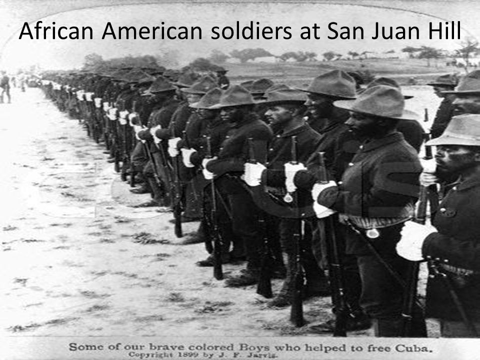 African American soldiers at San Juan Hill