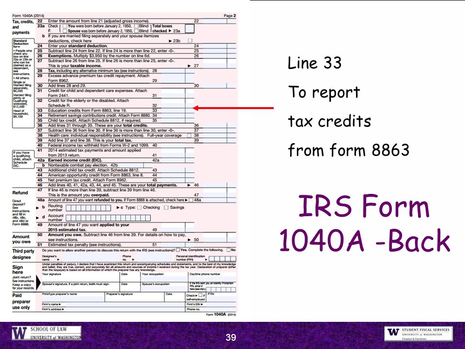 2015 Taxes John Clynch Li Chang Wong Uw Federal Tax Clinic Ppt