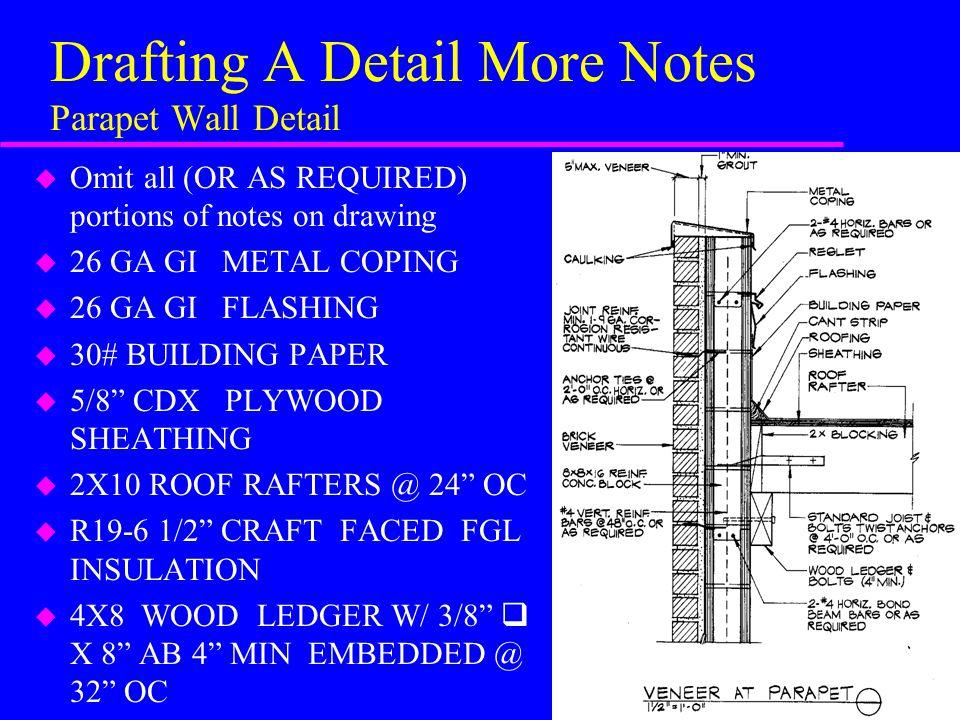 Roof Parapet Details Ppt Video Online Download