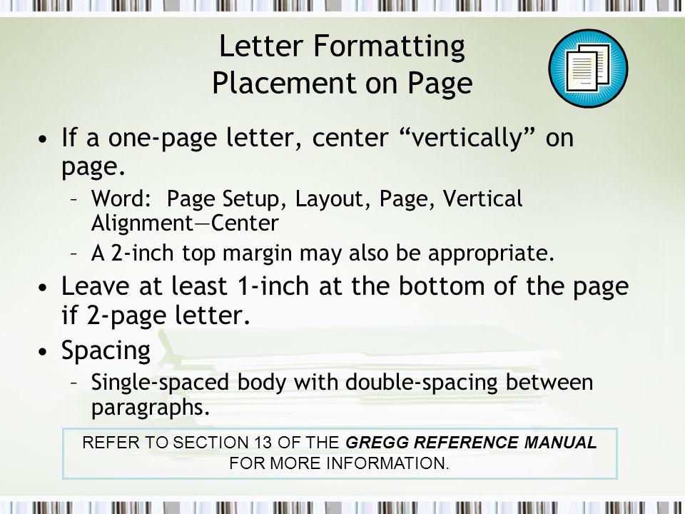 Formatting business documents ppt video online download 10 letter formatting spiritdancerdesigns Gallery