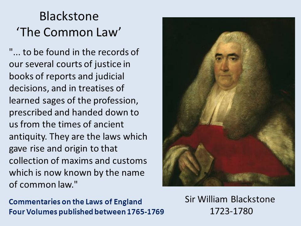 What is Common Law? So what is Common Law? - ppt download
