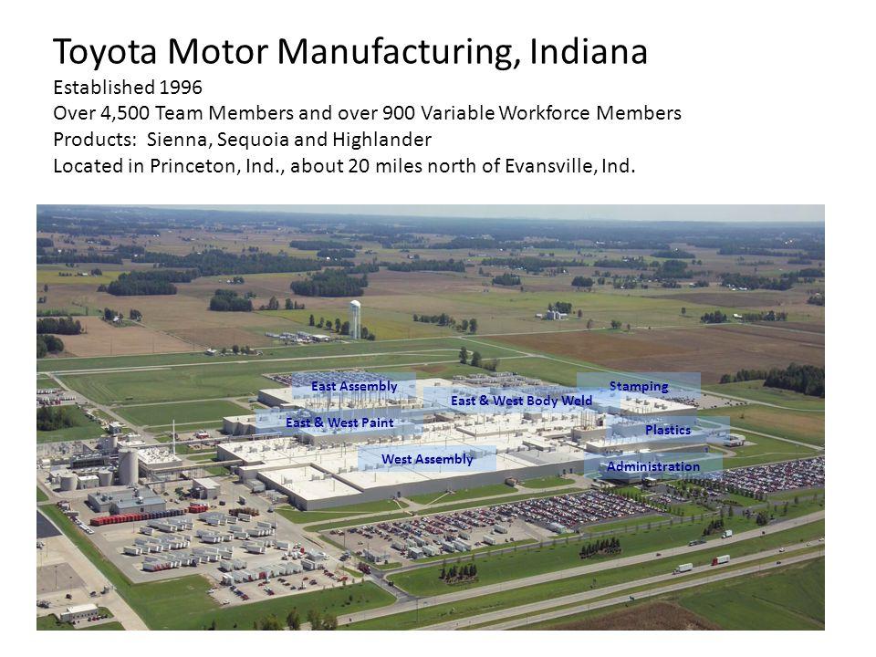 3 Toyota Motor Manufacturing ...
