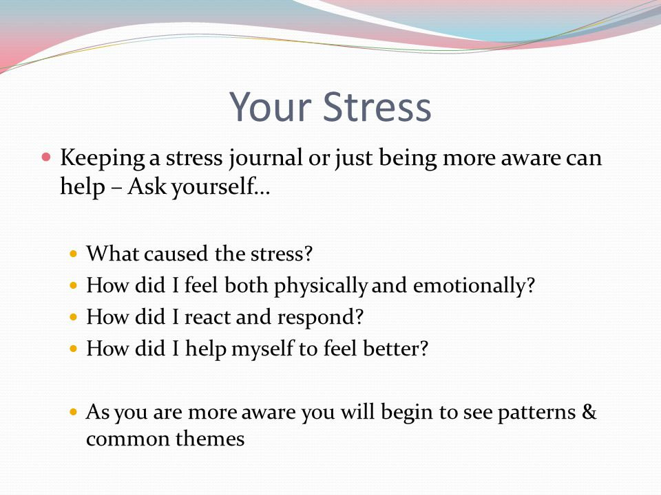 introduction to stress management pdf