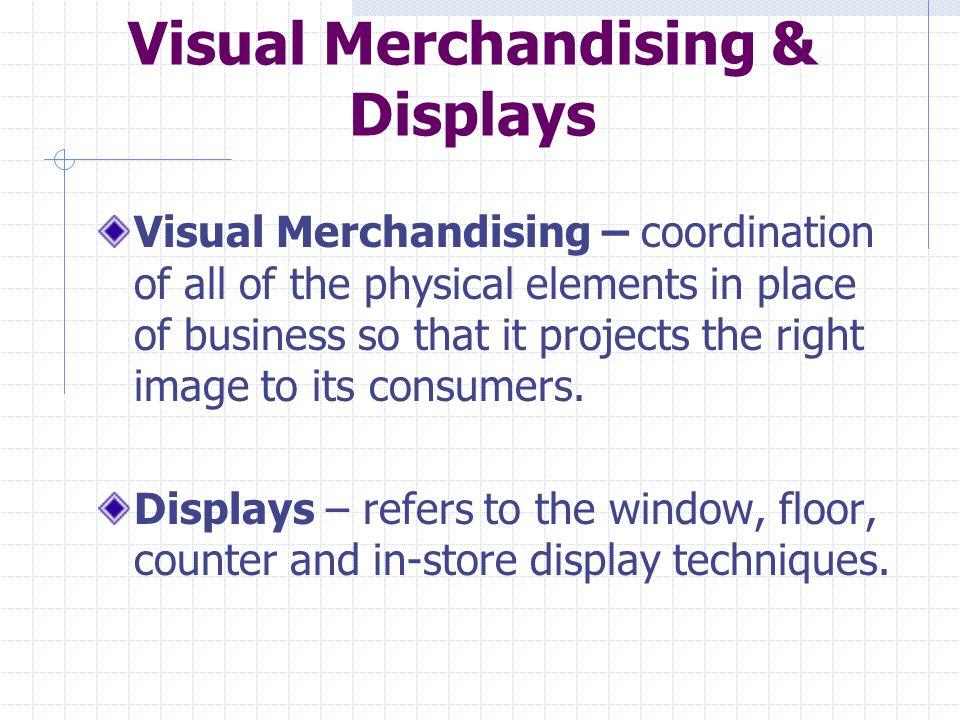 Visual Merchandising & Displays