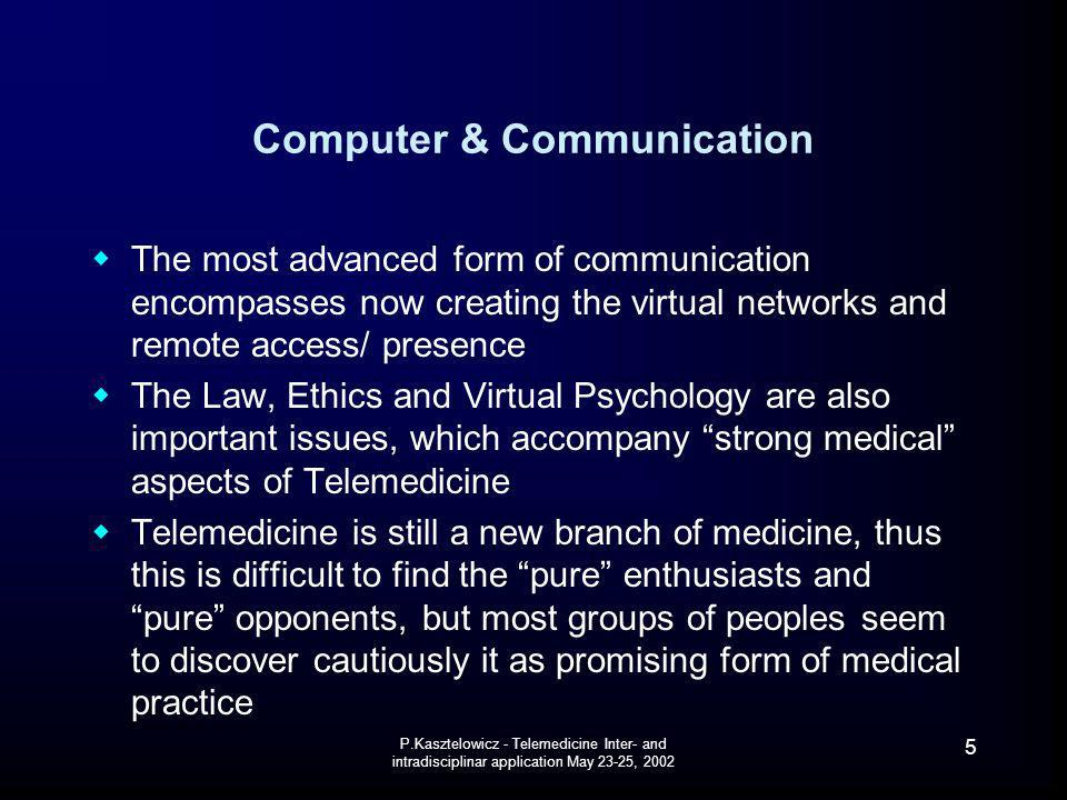 Computer & Communication