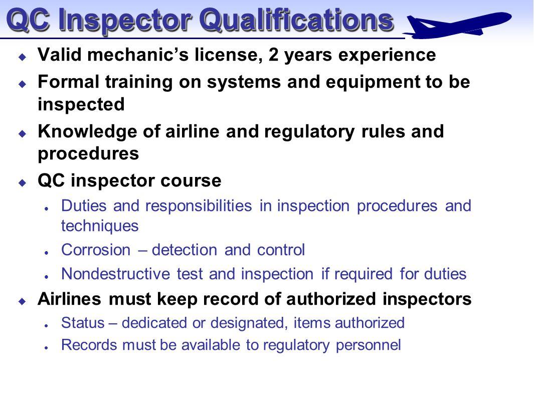 qc inspector - Madran kaptanband co