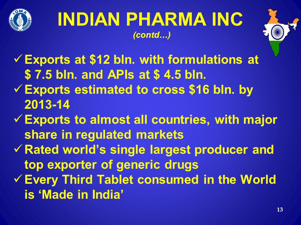 INDIAN PHARMA INC (contd…)
