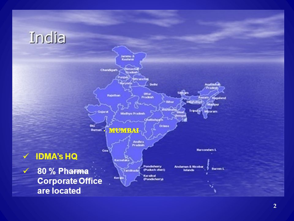 80 % Pharma Corporate Office are located