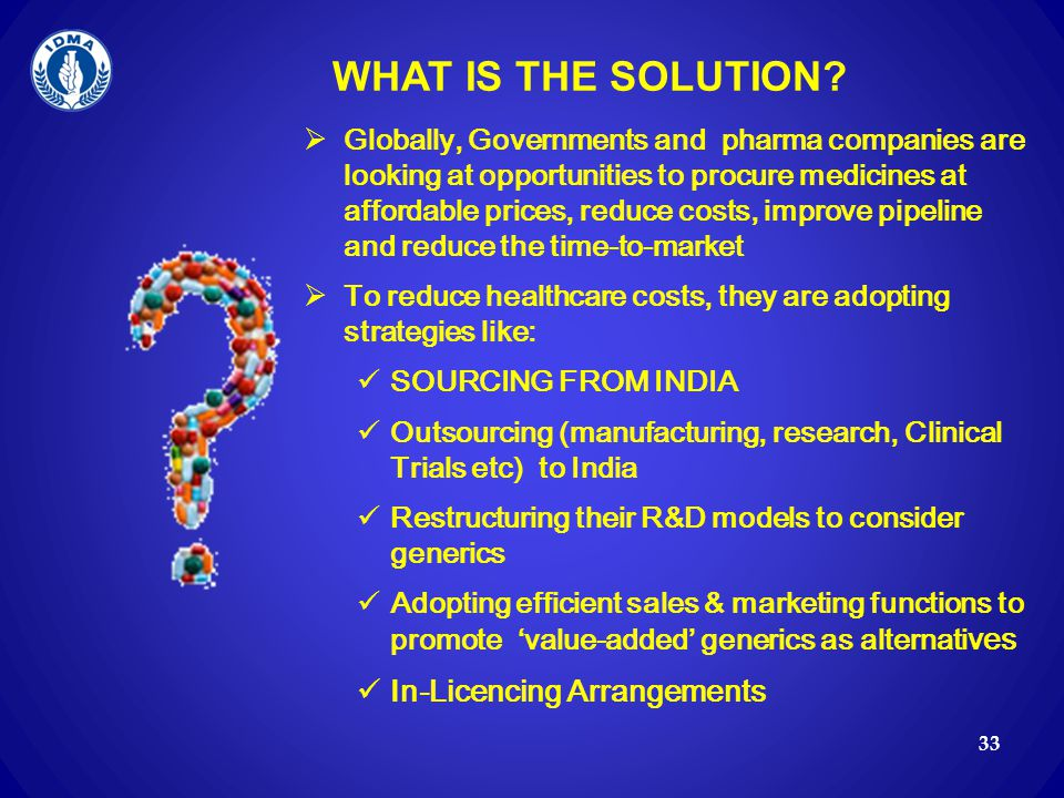 WHAT IS THE SOLUTION In-Licencing Arrangements