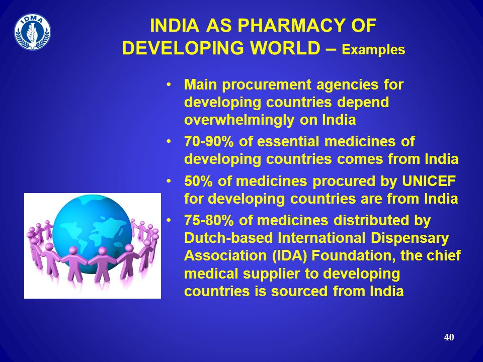INDIA AS PHARMACY OF DEVELOPING WORLD – Examples