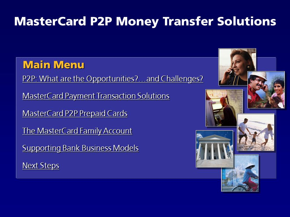 mastercard p2p money transfer solutions - How To Transfer Money From A Prepaid Card