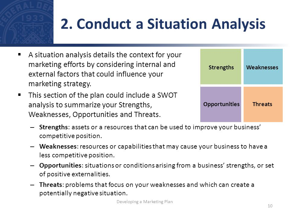 situation anlaysis 1 situation analysis the situation analysis will help your company understand the current market conditions and how the industry will evolve over the next eight years.