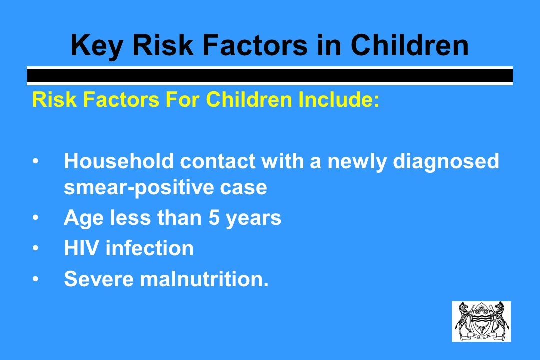 Key Risk Factors in Children