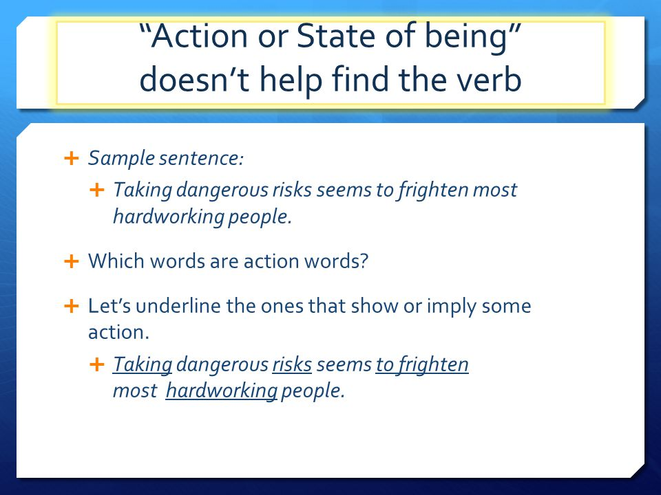Verbs Definition and Use. - ppt download