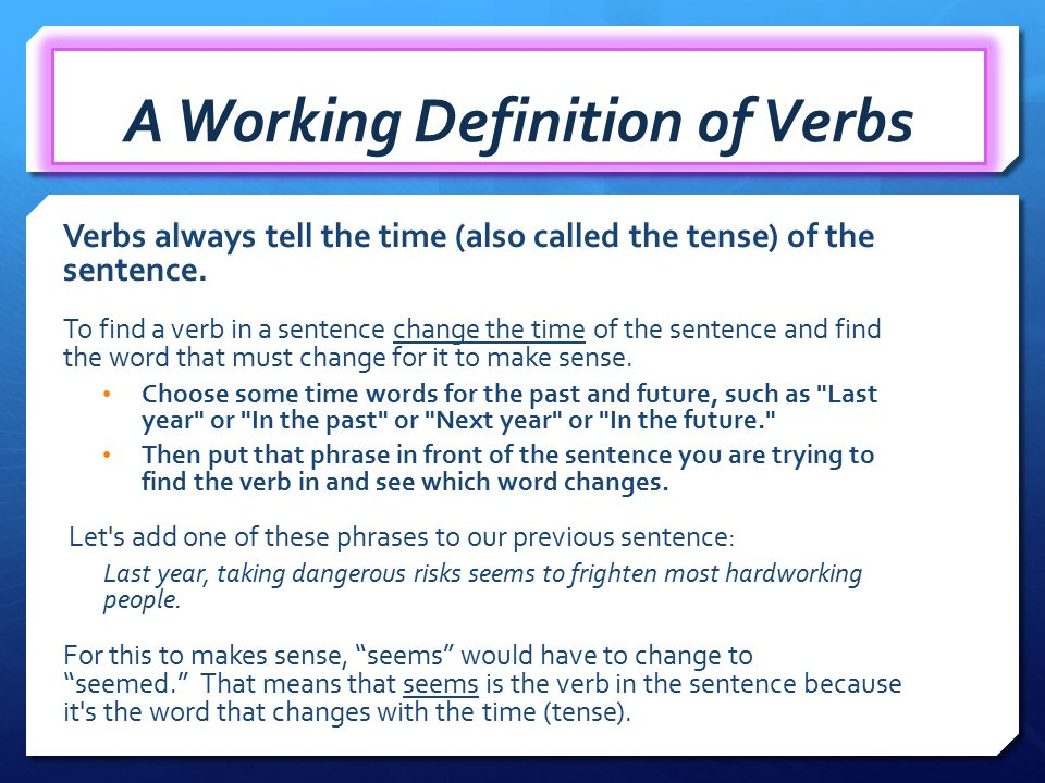 DEFINITION OF VERBS PDF DOWNLOAD