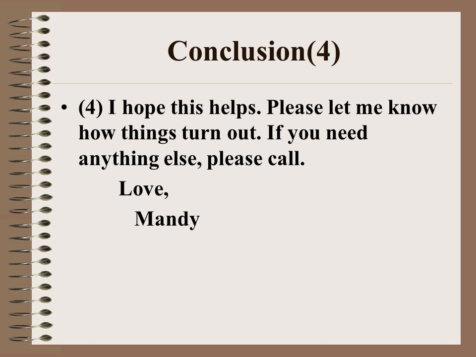 Informal letters giving advice ppt video online download 10 spiritdancerdesigns Choice Image