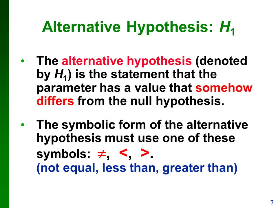 definitions in statistics a hypothesis is a claim or statement