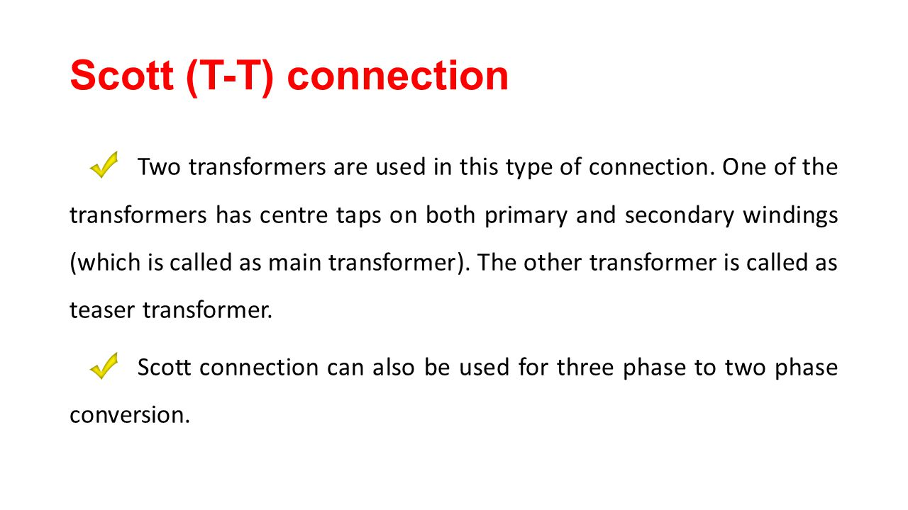 Transformer Chapter Ppt Video Online Download This Three Phase Power System Is Called Star 50 Scott