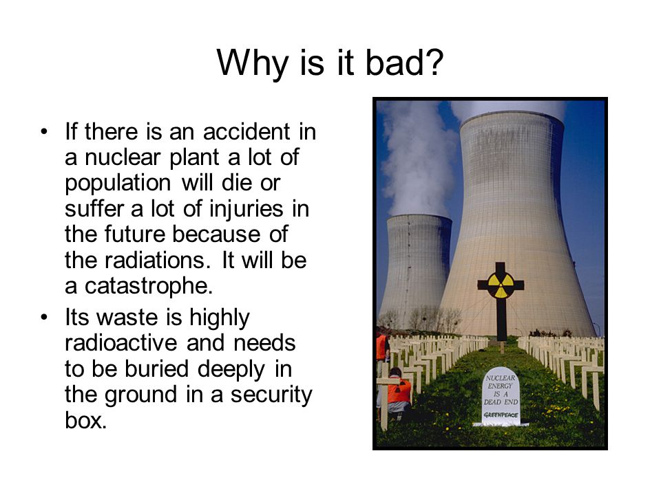 nuclear energy is not the answer Why nuclear energy may not be the answer international relations and security network regina s axelrod energy and the environment why nuclear energy may not be the.