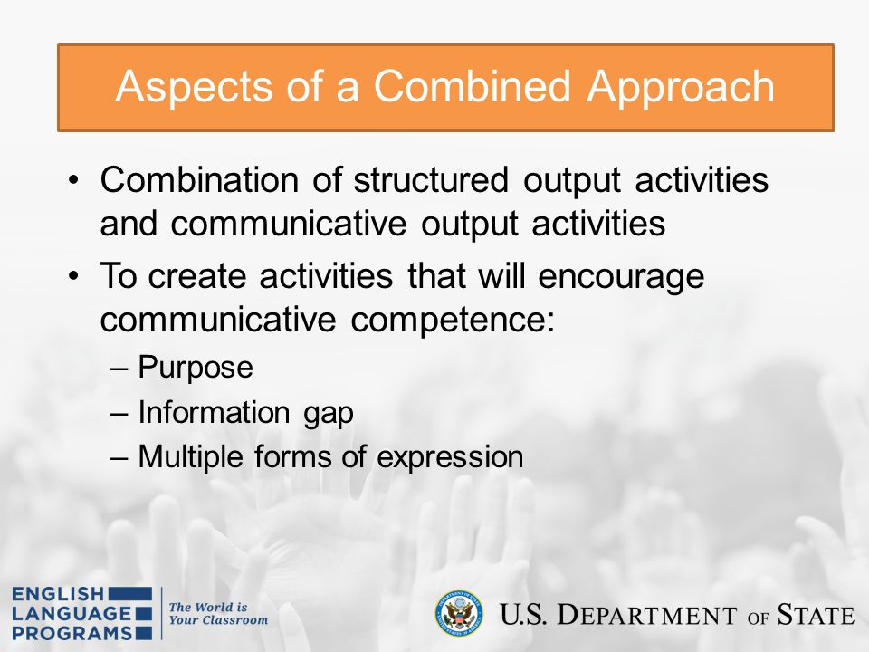 Aspects of a Combined Approach
