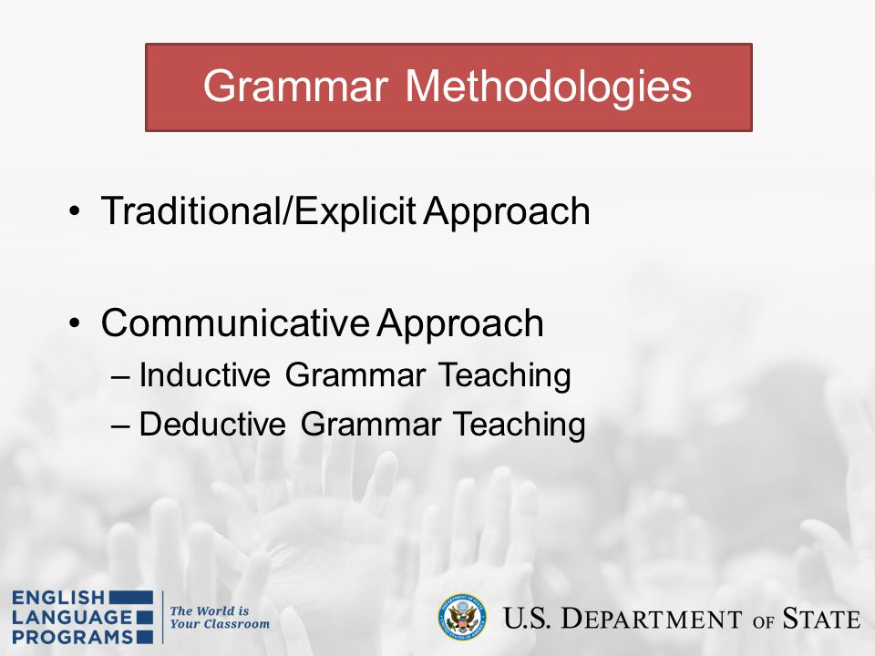 Grammar Methodologies