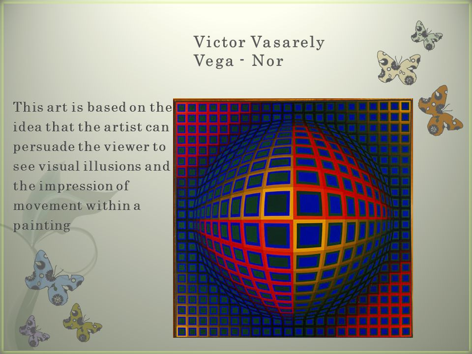 Victor Vasarely Vega - Nor