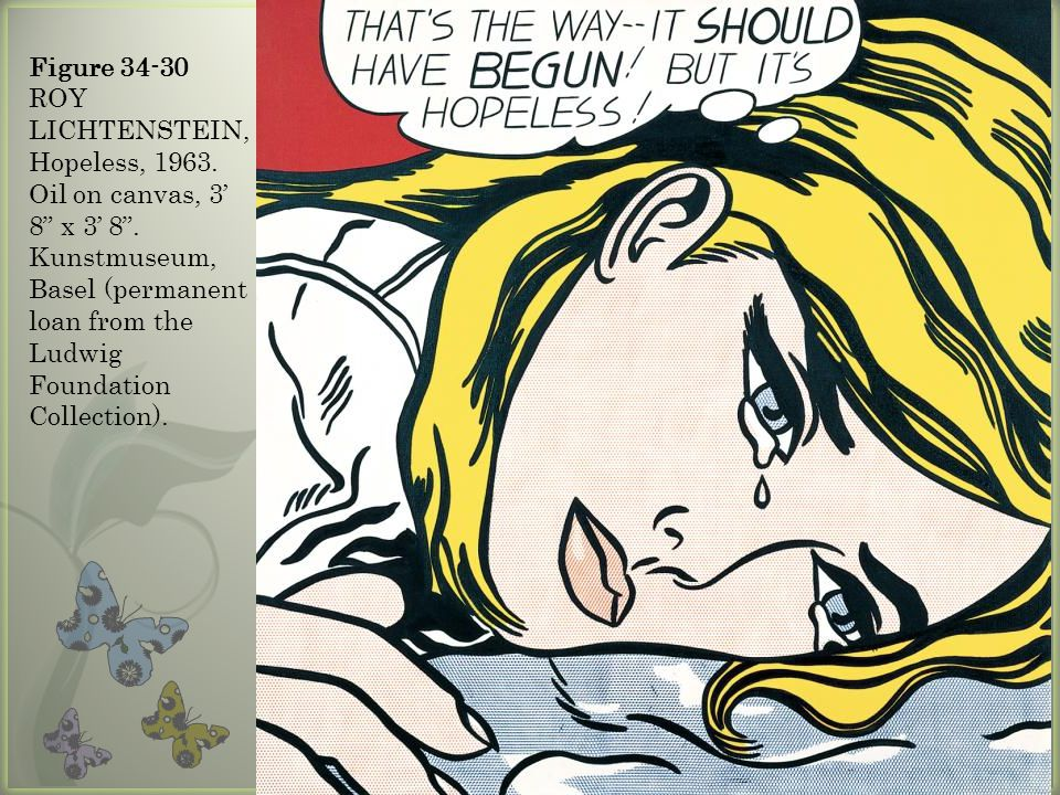 Figure ROY LICHTENSTEIN, Hopeless, 1963