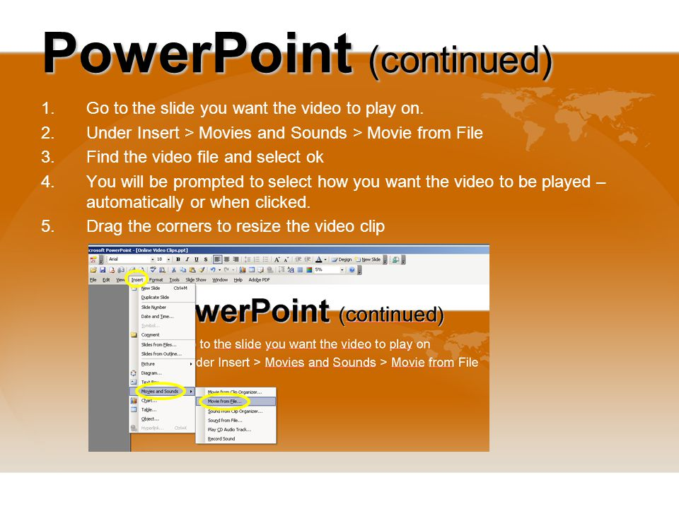 Video Clips How to download and convert video clips from the Web