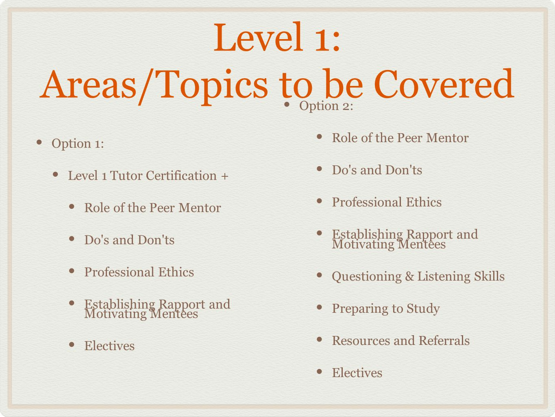 International Mentor Training Program Certification Ppt Download