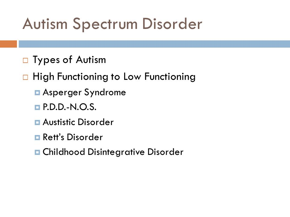 AUTISM SPECTRUM DISORDERS (ASD) - ppt video online download