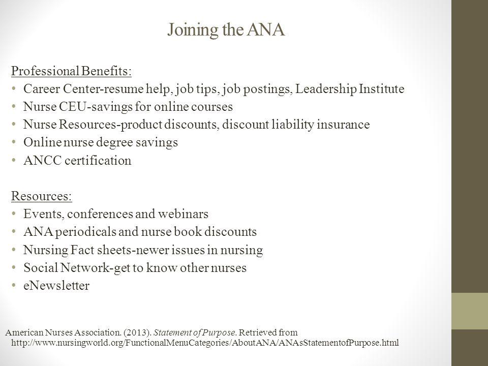 Practice Standard Presentation On The American Nurses Association