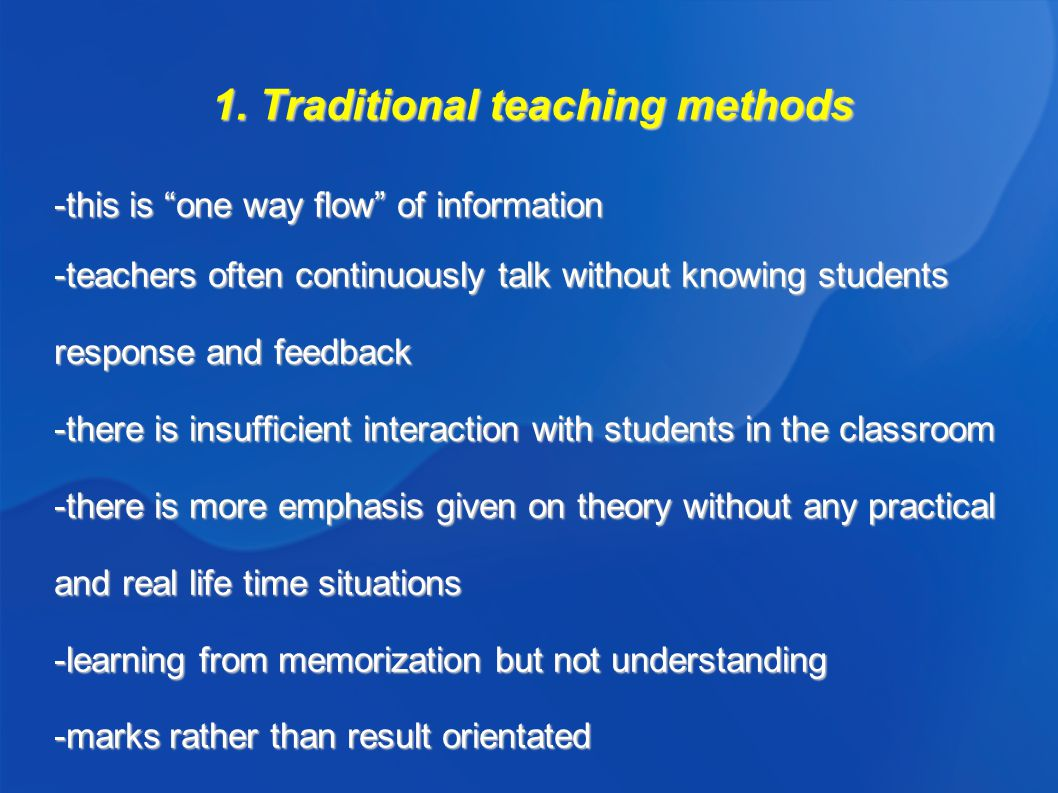teachings methods Define teaching method teaching method synonyms, teaching method pronunciation, teaching method translation, english dictionary definition of teaching method noun 1 teaching method - the principles and methods of instruction pedagogics, pedagogy method - a way of doing something, especially a systematic way.