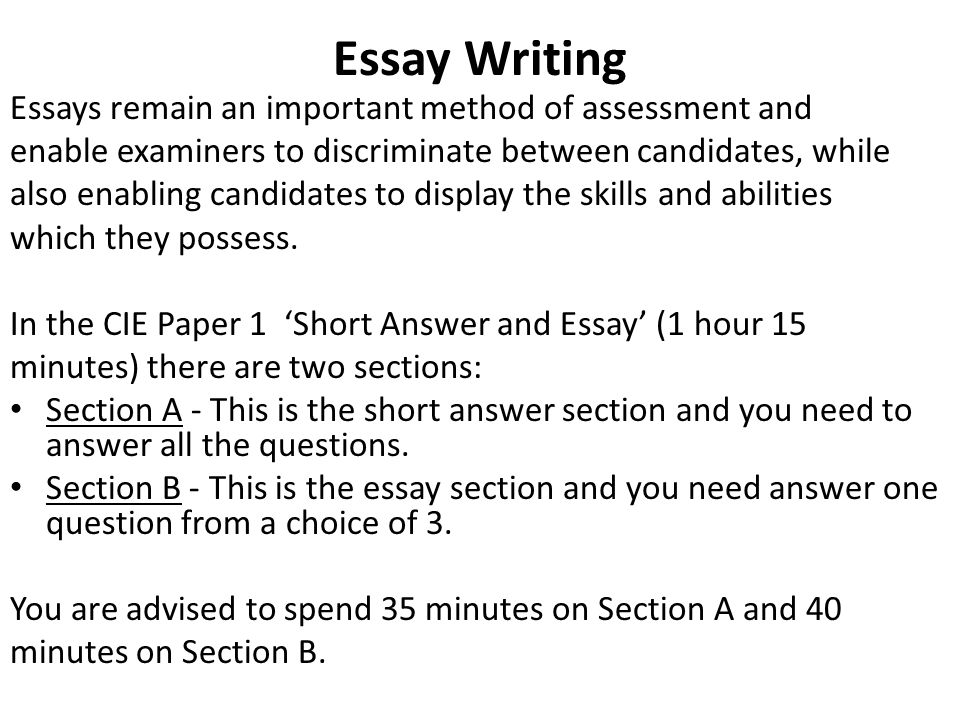 Asa Level Business Studies  Essay Writing  Ppt Video Online Download  Essay Writing Essays  Thesis For Argumentative Essay Examples also Thesis Statement For Definition Essay  Calculus Assignment Help