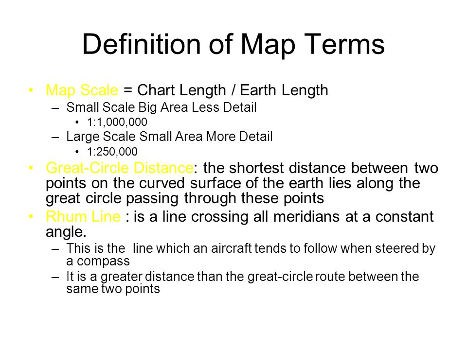 Definition Of Map Definition of Map Terms   ppt download Definition Of Map