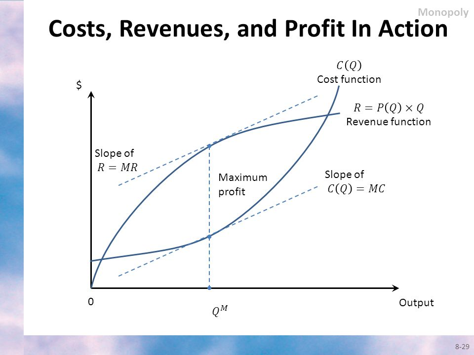 Costs, Revenues, and Profit In Action