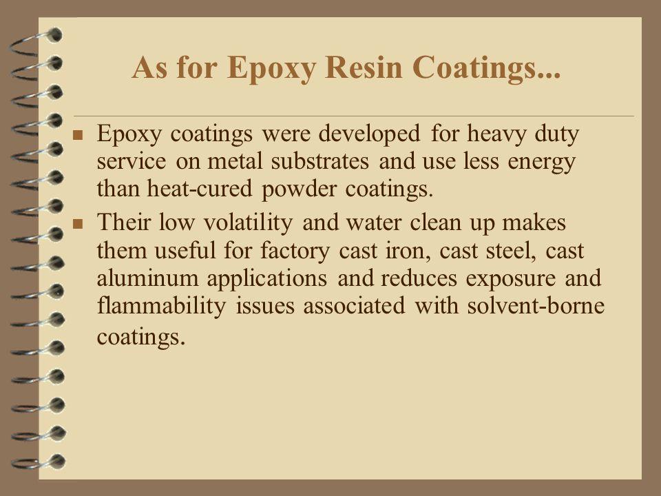 Epoxy Resin Coatings Team: Monopolymer  - ppt video online