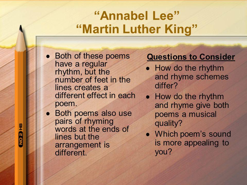 annabel lee literary analysis