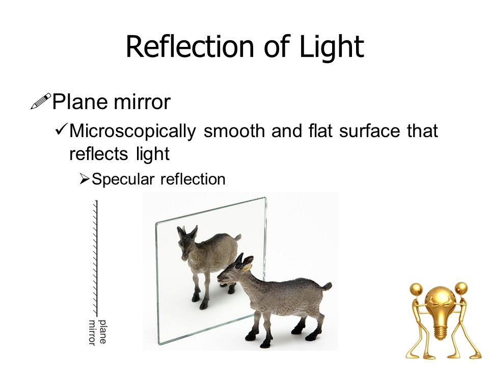 Reflection of Light Plane mirror