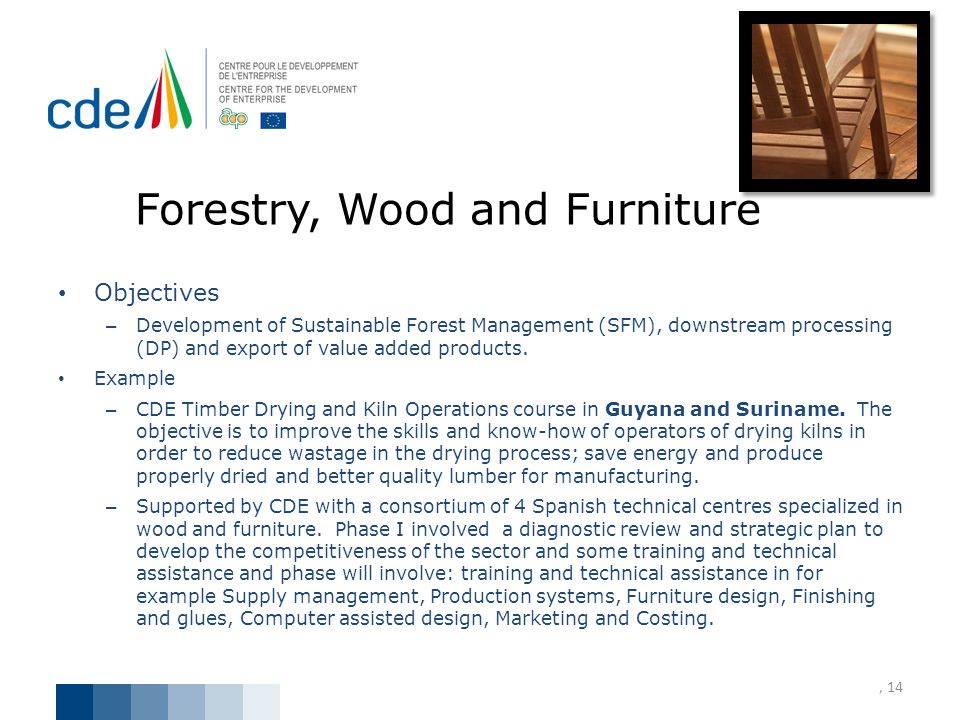Forestry, Wood and Furniture