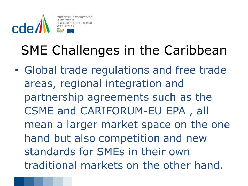 SME Challenges in the Caribbean
