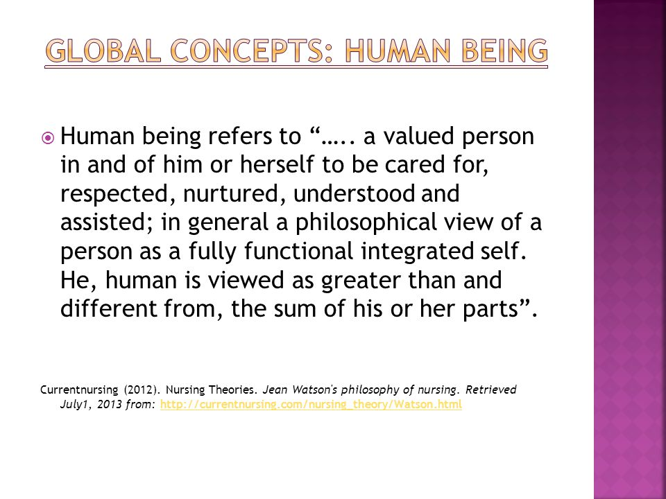currentnursing nursing theory