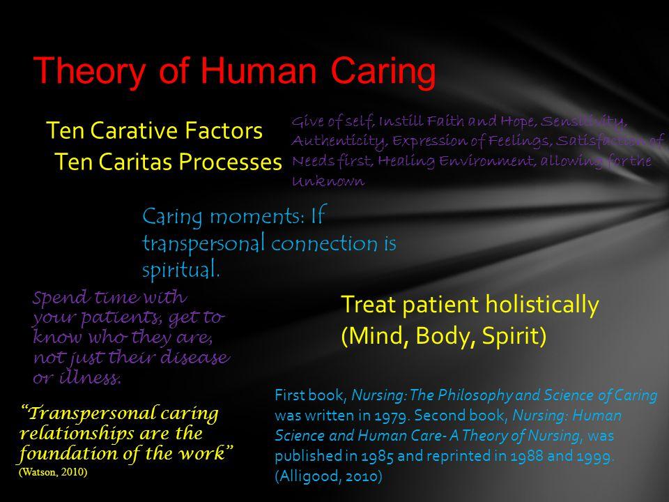watsons theory of human caring