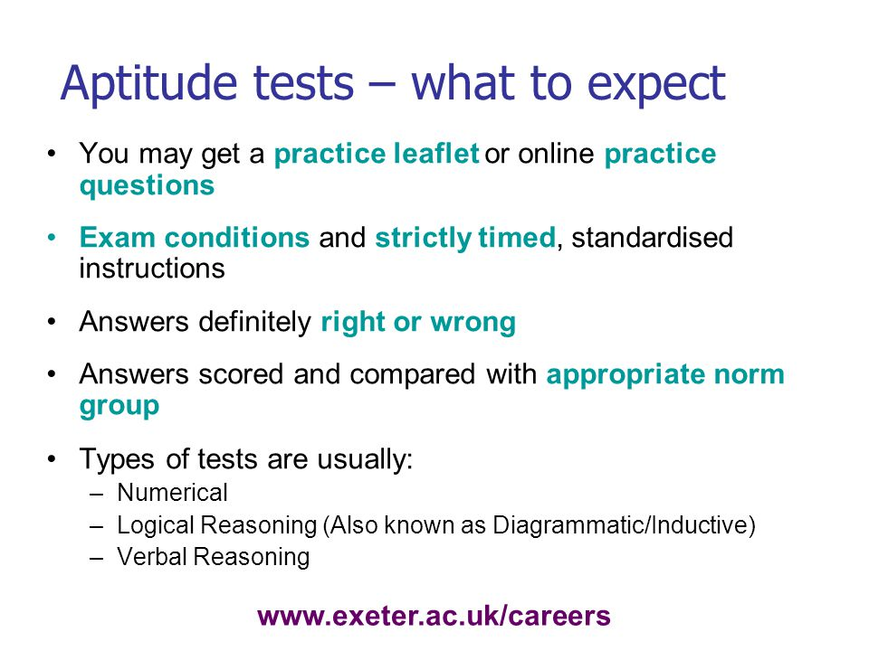 Preparing for Psychometric Tests - ppt video online download