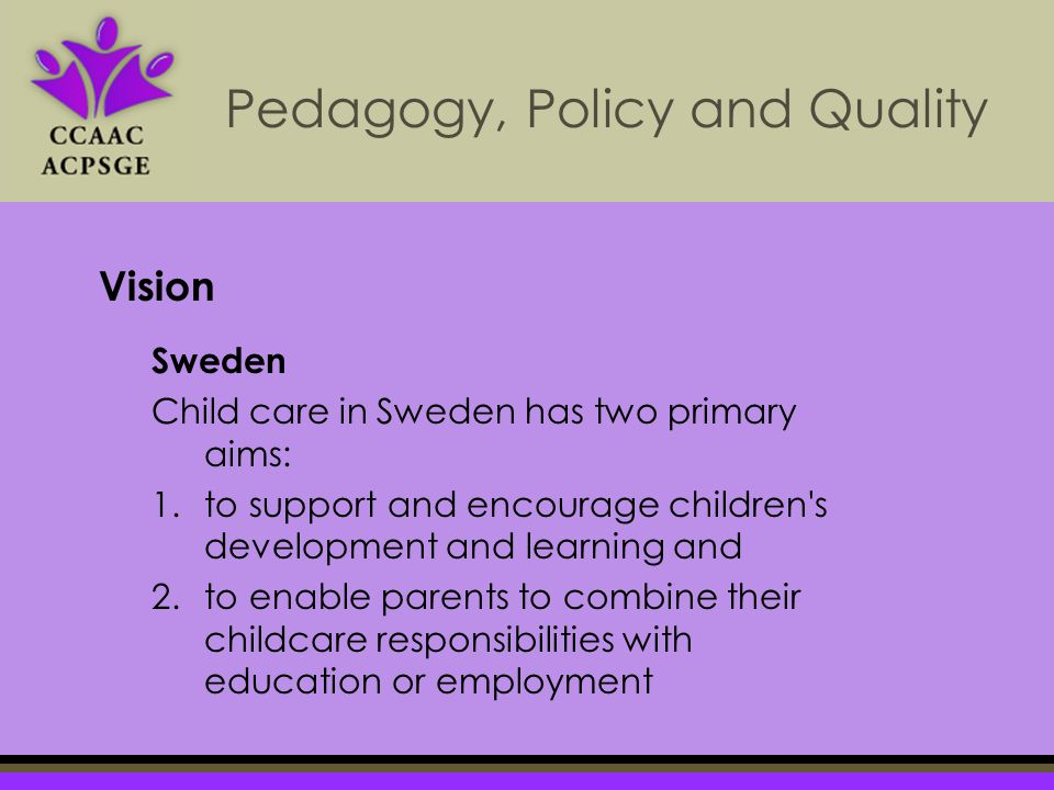 sweden child care policy