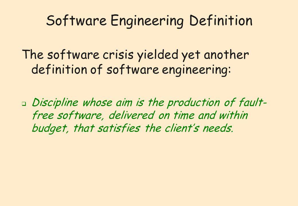 software crisis definition