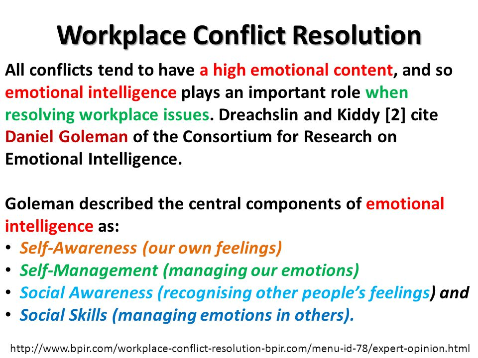 case studies for conflict resolution a A case study of conflict management: family conflict resolution lessons from the home one of the most common forms of conflict many of us will face is the inevitable dispute with a family member or loved one.