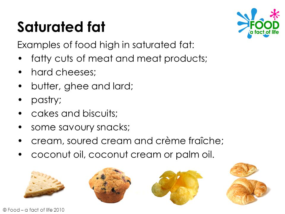 Examples Of Saturated Fats Image Collections Example Cover Letter
