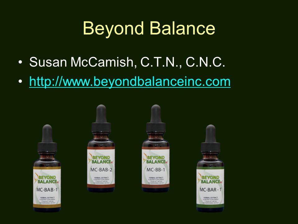 36 Beyond Balance Susan Mccamish C T N
