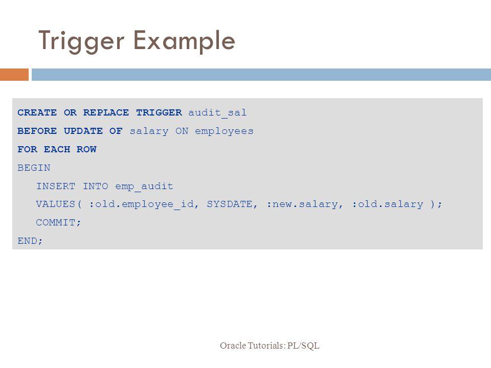 Pl/sqlpl/sql oracle10g developer: pl/sql programming chapter 6.