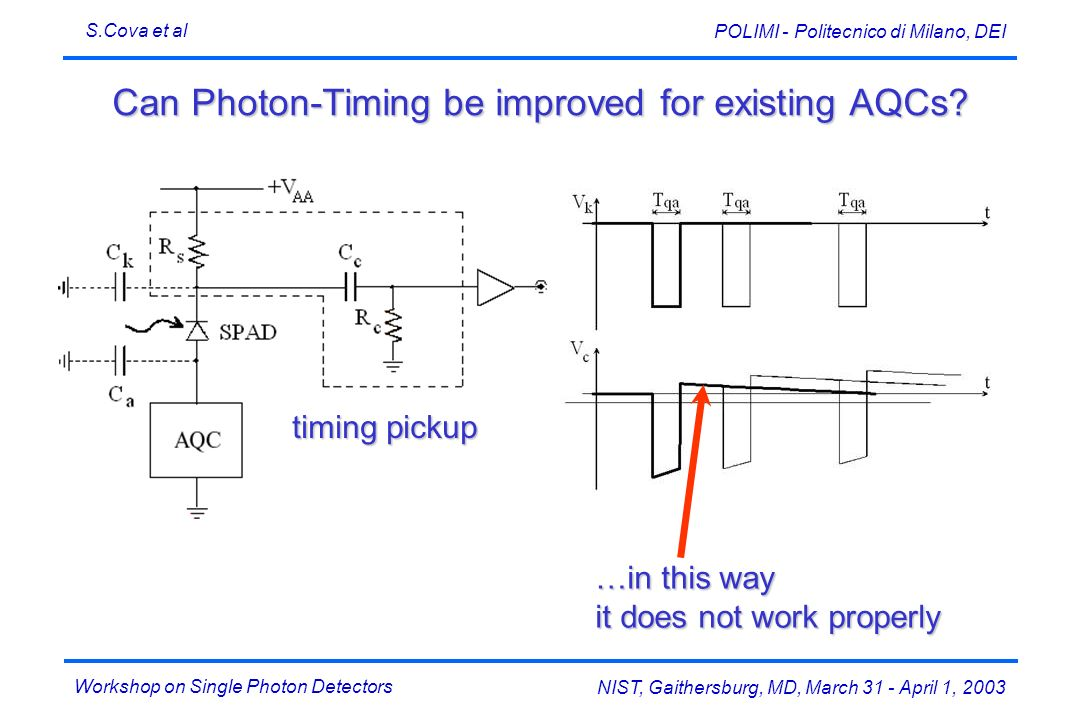 Can Photon-Timing be improved for existing AQCs